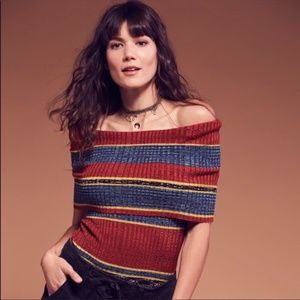 Free People Cowl Neck Sleeveless Sweater Size XS